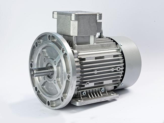الکتروموتور ضد انفجار پایه فلنچ فریم 100