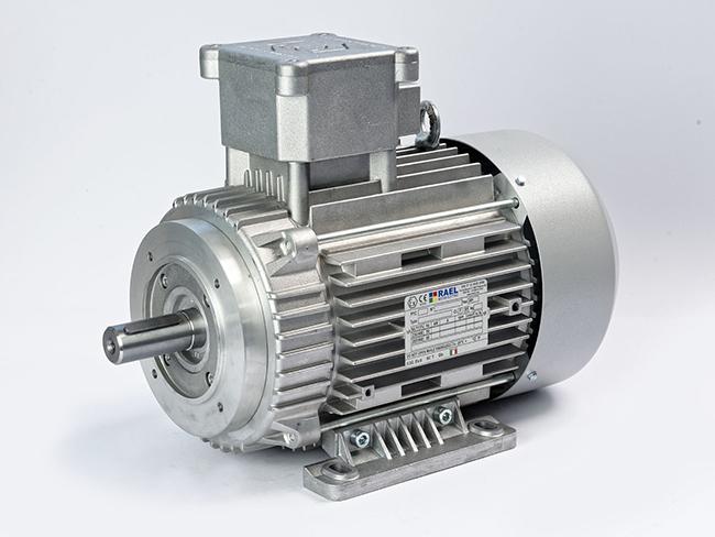 الکتروموتور Ex پایه، نیم فلنچ فریم 112