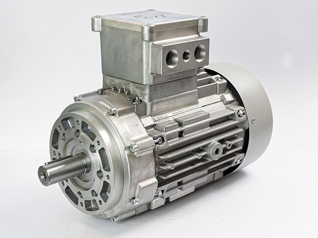 الکتروموتور ضد انفجار نیم فلنچ فریم 132