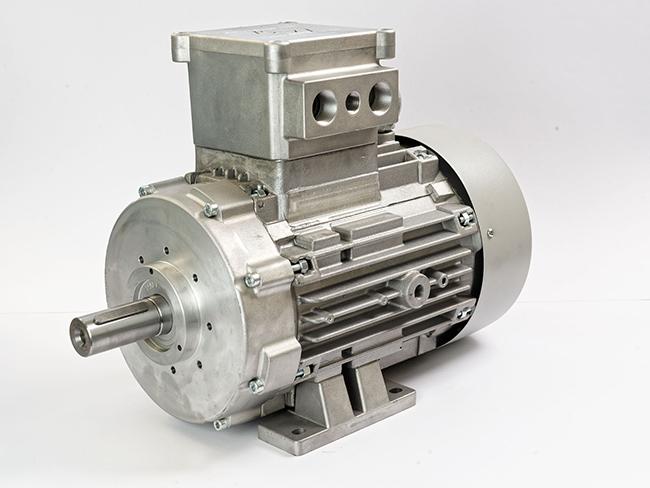 الکتروموتور ضد جرقه پایه دار فریم 132