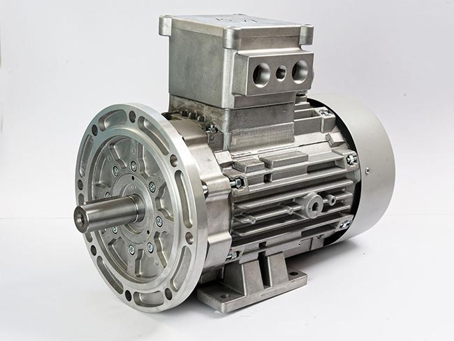 الکتروموتور Ex پایه فلنچ فریم 132