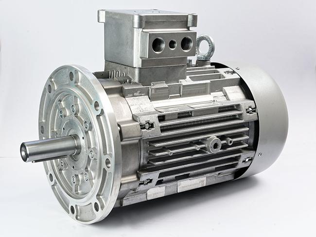الکتروموتور ضد انفجار فلنچ دار فریم 160