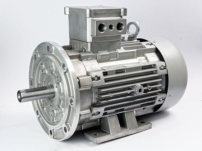 الکتروموتور Ex پایه فلنچ فریم 160