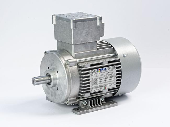 الکتروموتور ضد انفجار پایه دار فریم 80