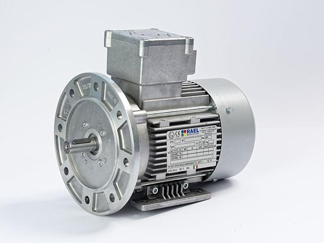 الکتروموتور ضد انفجار پایه فلنچ فریم 80
