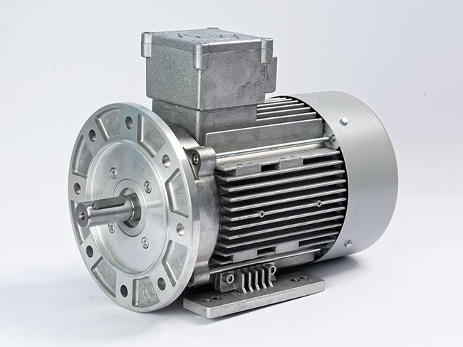الکتروموتور ضد انفجار پایه فلنچ فریم 90